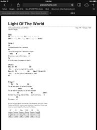 light of the world chords light of the world chords piano lessons pinterest piano
