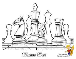 cool chess boards smooth chess coloring pages to print 1 chess pieces free
