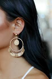 earrings ear gold earrings ear cuffs hoop earrings and stud earrings lulus