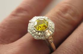 canary engagement ring ring engrossing canary halo engagement ring ravishing