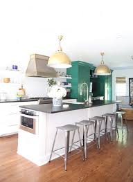 green white kitchen our green and white kitchen renovation emily a clark