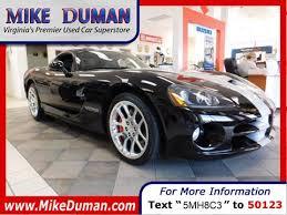 used dodge viper for sale dodge viper for sale carsforsale com
