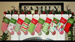 Christmas Stocking Decorations Christmas Stockings Youtube