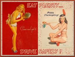 20 vintage thanksgiving pinups