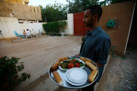 cuisine omer in a khartoum kitchen a pharmacist serves up a sudanese rarity a