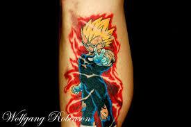 dragon ball z tattoo 01 by wolfgangrobinson on deviantart