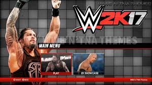 themes for android wwe how to download and install wwe 2k 17 psp for android youtube