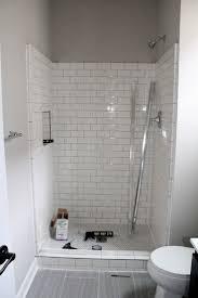 Gray Subway Tile Bathroom by Gray Subway Tile Bathroom 9 Large Framed Bathroom Mirrors Build