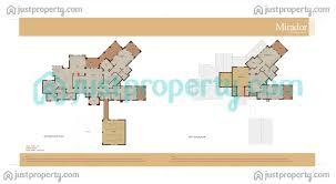mirador la coleccion floor plans justproperty com