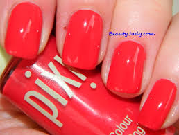 pixi sweet strawberry nail colour for summer beautyjudy