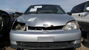 toyota family car junkyard find 2000 toyota echo the truth about cars
