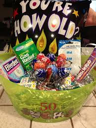 birthday gift baskets for men 50th birthday gift ideas diy crafty projects