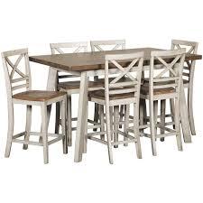 standard furniture dining room sets fairhaven 7 piece counter dining set standard furniture afw