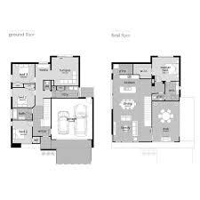 Yorkdale Floor Plan Strata Two Storey Home Design Ballarat Geelong