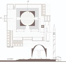 mosque floor plan kayseri mosque