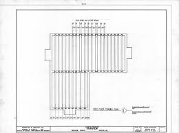 first floor framing plan asa thomas house milton north carolina