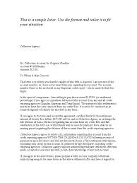 Letter Of Intent To Pay Template by Pay For Deletion Template