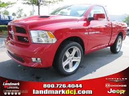 flame red jeep 2011 dodge ram 1500 sport r t regular cab in flame red photo 12