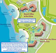 papakea resort map map of ground floor hale papakea villa villas vacation
