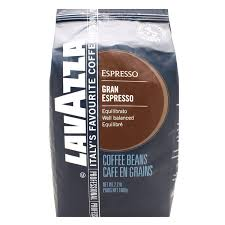 espresso coffee bag lavazza grand espresso coffee beans 1kg bag