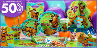 scooby doo party supplies scooby doo birthday party