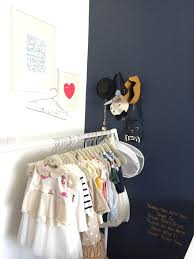 Shelf With Clothes Rod Nurseries Without Closets Project Nursery