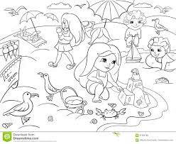 free coloring pages beach free coloring pages of toys alltoys for