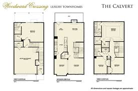 Luxury Townhomes Floor Plans Woodward Crossing Townhomes Gaithersburg Md Apartment Finder