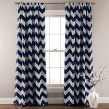 Gray Chevron Curtains Buy Chevron Curtain Panels From Bed Bath U0026 Beyond