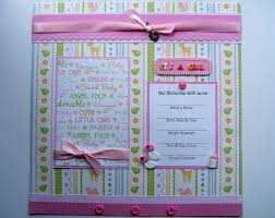 baby girl scrapbook album scrapbook designs by mildred it s a girl baby album