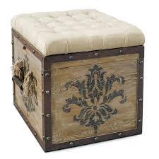 Ottoman Cube Easy Covering Storage Ottoman Cube Small Home Ideas