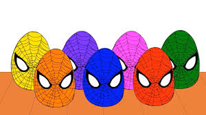 learn colors spiderman color bowling game colors spiderman