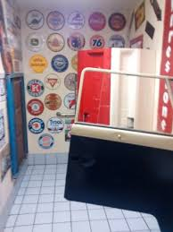 tailgate bathroom truck tailgate bathroom stalls picture of cruisers cafe 66