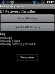 cwm recovery apk apk recovery installer 1 3 sony ericsson xperia x10 mini