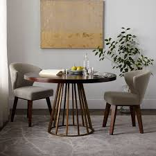 west elm round dining table west elm round dining table cutout legs sesigncorp