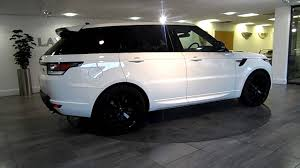 white land rover range rover sport white u0026 black lawton brook youtube
