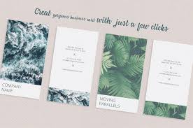 Mini Resume Business Card Vertical Photographer Business Card By Design Bundles