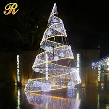 decorative lighting artificial tree without