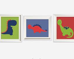 Kids Dinosaur Room Decor Dinosaur Nursery Etsy