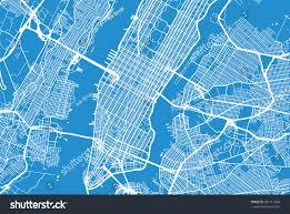 vector map york city vector map stock vector 581711860
