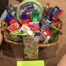 Georgia Gift Baskets Graduation College Bound Gift Basket For A Male Square Laundry