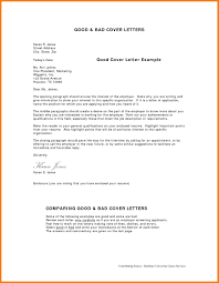10 examples of good cover letters
