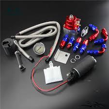 adjustable fuel pressure regulator 255 lph fuel pump kit fit for