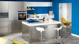 peinture pour cuisine grise cuisine gris fushia idées décoration intérieure farik us