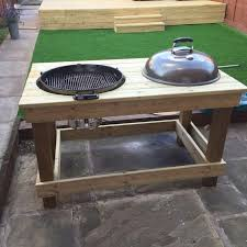 outdoor grill prep table diy bbq prep table bbq pinterest diy fire pit fire pit table