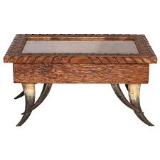 Coffee Table Box Horn Collection Shadow Box Coffee Table Large