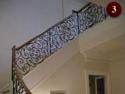 interior residential railings raleigh custom iron railings