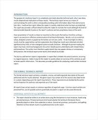 template for technical report professional report templates professional technical report