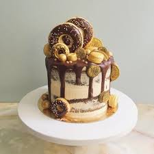 best 25 gold birthday cake ideas on pinterest black and gold