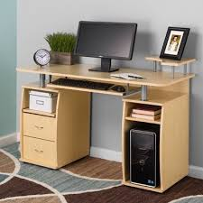 computer desk with cpu storage fineboard keyboard tray and cpu storage computer desk wayfair